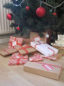 MAKING THE MARROW - CRAFT-  Washi tape Xmas Gifts round 1 (English Christmas)