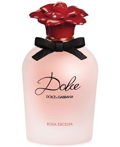 The new Dolce Rosa Excelsa Eau De Parfum captures the boldness and pure spirit of the rose with the essence of fresh petals in bloom. The precious heart of Dolce Rosa Excelsa seduces with two delicate