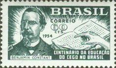 1954 Brazil Centenary of Education For The Blind