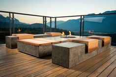 Sticks and Stones, a fabricator of concrete furniture, located in British Columbia, Canada