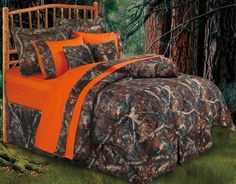 Oak Camo Rustic Comforter Sets from HomeMax Imports. HiEnd Accents take pride in itself as a leader in the luxury rustic oak camo bedding.