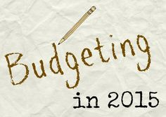 Budgeting right in 2015 - our tips for setting up your family's budget and being successful