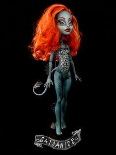 repaint monster high doll ooak custom Betsy by Saijanide