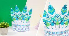 Atelier DIY : Printable couronne indien