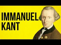PHILOSOPHY: Immanuel Kant - YouTube