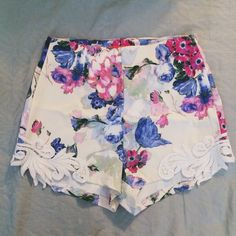 "Spotted while shopping on Poshmark: ""Floral High Waisted Shorts""! #poshmark #fashion #shopping #style #Other"