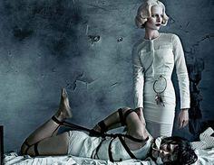 Photoshoot with my favorite supermodel Karolina Kurkova! Photography by Steven Klein for Interview Magazine