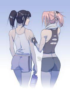 Naruto - Sakura Haruno x Hinata Hyuuga - SakuHina