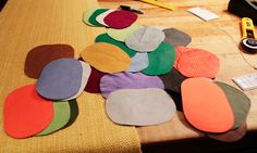 Custom colorful elbow patches to remedy a boring blazer, by designer Jack Foxley