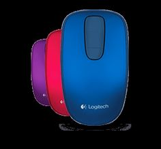 Logitech Zone Touchmouse T400: gives you easy, intuitive touch navigation for Windows 8. Quickly scroll with a finger swipe, access favorite apps with a button click.
