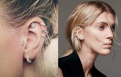 Upper ear rings