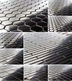 $14.95 a Square Foot and Free Shipping Stainless Steel Mosaics available in 15 different formats from thebuilderdepot.com #metalmsoaic