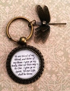 Outlander Blood Vow keychain by Enchanted Element
