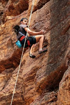Climbing in Badami, Karnataka, India.  Siddharth Devaraj climbing at the Temple Area, one of the well know climbing spots in India.  Siddharth Devaraj Photography, at Face Book page :  Sid-Art.co Instagram :  Sid-Art.co www.Sid-Art.co