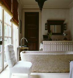 Home Interior Design rustic modern.Home Interior Design rustic modern Home, Home Remodeling, Huniford, Cheap Home Decor, Modern Rustic, Tile Remodel, Stone Tub, Beautiful Bathrooms, Modern Style Decor