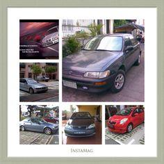 Models Toyota Corolla XLi, BMW 318i E36, BMW 520i E39, BMW 318i E46, Toyota Altis (2006 - 2015) and my present car Toyota Yaris