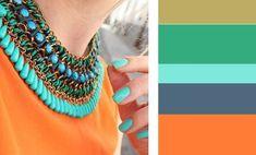 Como combinar los colores tendencia primavera-verano