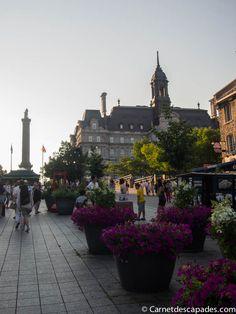 Vieux Montréal Visiter Montréal en été en 17 idées - A faire, à voir et à goûter - Carnet d'escapades