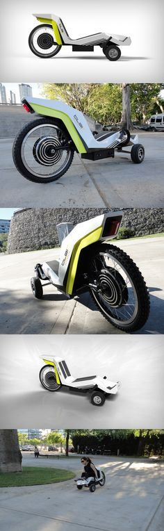 Designed taking reference from a #Luge, the Bodyskate is a #motorized vehicle…