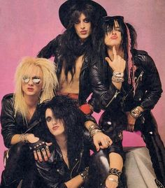 "pretty boy floyd - These guys showed up near the tailspin days of ""Glam Metal"". They were one of dozens of bands that all looked and sounded alike."