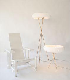 molo design floor- and table light ... Very nice!