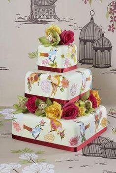 Wedding Magazine - Wedding Cakes - Contemporary Cakes