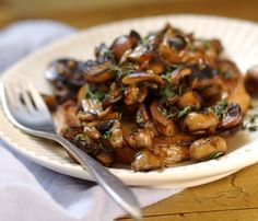 Recipe for Any Meal: Mushrooms on Toast Recipes from The Kitchen