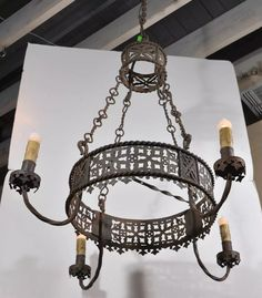 Chandeliers On Pinterest Wrought Iron Chandeliers Gothic Chandelier