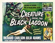 Poster - Creature From the Black Lagoon