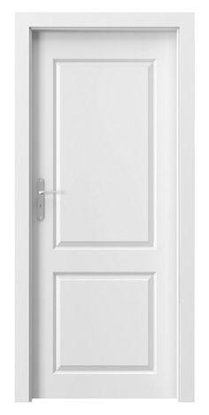 Drzwi wewnętrzne Royal A Porta Single Door Design, Wooden Main Door Design, Interior Door Styles, Indoor Doors, Single Doors, Glass Design, Glass Door, Home Deco, Tall Cabinet Storage