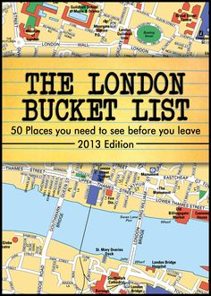 The London Bucket List -50 Places you have to see before you leave-:Amazon:Kindle Store
