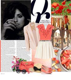 """Fashion destination: Spain"" by korvapuusti ❤ liked on Polyvore"
