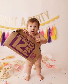 Taco Bell Themed Baby Birthday Photo Shoot
