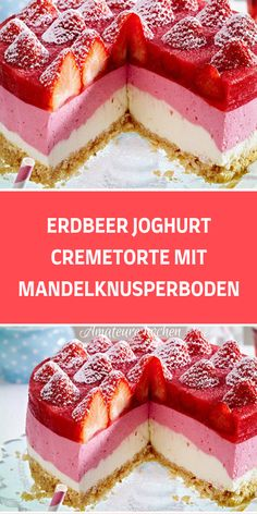 Easy Baking Recipes, Cake Recipes, Dessert Recipes, Cake Factory, Cake & Co, Number Cakes, Cakes And More, No Bake Cake, Bakery