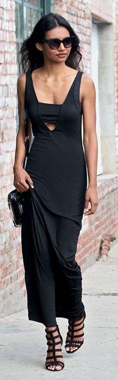 Spring Black Streetstyle by Tuolomee // HAATI CHAI
