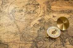 Related image Compass, Vintage World Maps, Ocean, Image, Pretty Images, Nice, The Ocean, Sea