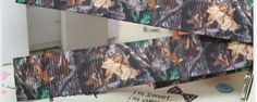 3 Yards of 5/8 Camo grosgrain ribbon by Softba11Bows on Etsy