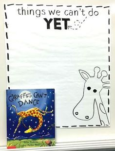 Teach Your Child to Read - Encourage students to realize the power of growth mindset and the word yet with this read aloud and free graphic organizer. - Give Your Child a Head Start, and.Pave the Way for a Bright, Successful Future. Social Emotional Learning, Social Skills, The Power Of Yet, Giraffes Cant Dance, Growth Mindset Activities, Growth Mindset Classroom, Growth Mindset For Kids, Growth Mindset Lessons, Growth Mindset Display