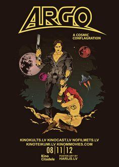 ARGO alternative poster art by Harry Grundmann www.harrymovieart.com