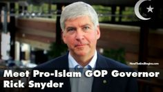 MICHIGAN GOVERNOR SNYDER WANTS TO RADICALLY INCREASE MUSLIM IMMIGRATION TO DETROIT| June 18, 2014 Michigan's gov wants more muslim  'refugees' to come to Michigan.