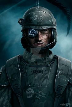 Colonial Marine by JFoliveras Science Fiction, Space Soldier, Alien Pictures, Aliens Colonial Marines, Alien Concept, Concept Art, Starship Troopers, Gear Art, Future Soldier