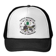 Turtle Mountain Band of Chippewa Trucker Hat #Native #American #Tribe #indigenous #indians #ojibwe