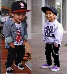 """I thought this pin should be titled """"How to dress your child like a huge tool"""""""