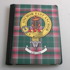 Crest and Tartan iPad Mini Flip Case