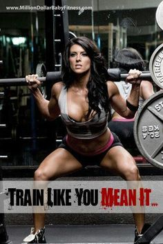 Love the words but seriously....what respectable woman dresses like that to lift!??
