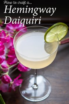 Follow our Hemingway Daiquiri recipe and make the classic Papa Doble cocktail at home in just five minutes. | Hemingway Daiquiri | Ernest Hemingway Cocktail | Hemingway Daiquiri Recipe | Hemingway Daiquiri Cocktail | Cuban Cocktail | Rum Cocktail | Classic Cocktail | Ernest Hemingway Cocktail | Papa Doble Cocktail | Hemingway Special Cocktail | Rum Cocktail Hemingway Daiquiri, Whiskey Ginger, Daiquiri Cocktail, Drinking Around The World, All Beer, Grapefruit Juice, Ernest Hemingway, Classic Cocktails