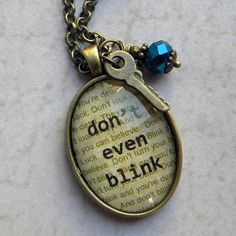 Hey, I found this really awesome Etsy listing at https://www.etsy.com/listing/214269607/dont-blink-necklace-doctor-who-jewelry