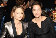 Jodie Foster se casa com a atriz e fotógrafa Alexandra Hedison!