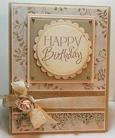 Pretty birthday card.