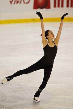 Mao Asada (JPN), MARCH 27, 2012 - Figure Skating : The practice session during the ISU Figure Skating World Championship 2012, at Palais Des Expositions, Nice, France, (Photo by Enrico Calderoni/AFLO SPORT) [0391]